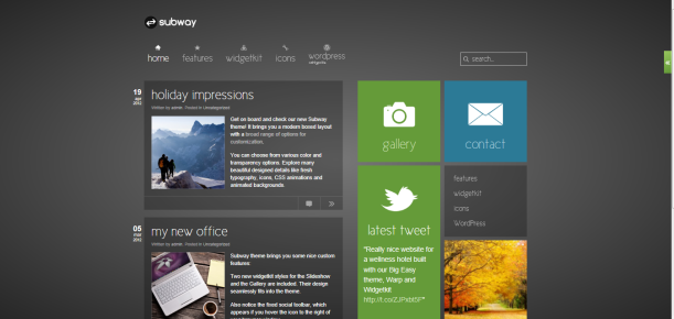 3 plantillas estilo Windows 8 para WordPress | NeoTatis